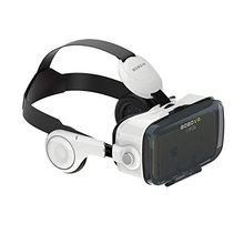 """Moveksi Bobo VR Z4 3D VR стекло крепления головы виртуальной реальности 3D Видеоочки для 4-6 """"Android IOS смартфоны"""