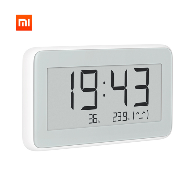 Xiaomi Mijia Bluetooth Temperature Humidity monitoring electronic E-link LCD Screen Digital Thermometer Moisture Meter Smart