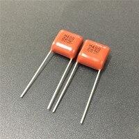 10 stücke CBB kondensator 683 400V 683K 0 068 uF 68nF P10 CBB21 Metallisierten Film Kondensator-in Kondensatoren aus Elektronische Bauelemente und Systeme bei