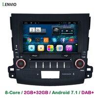Lenvio RAM 2GB 32GB Octa Core 2 Din Android 7 1 CAR GPS Navigation For Mitsubishi