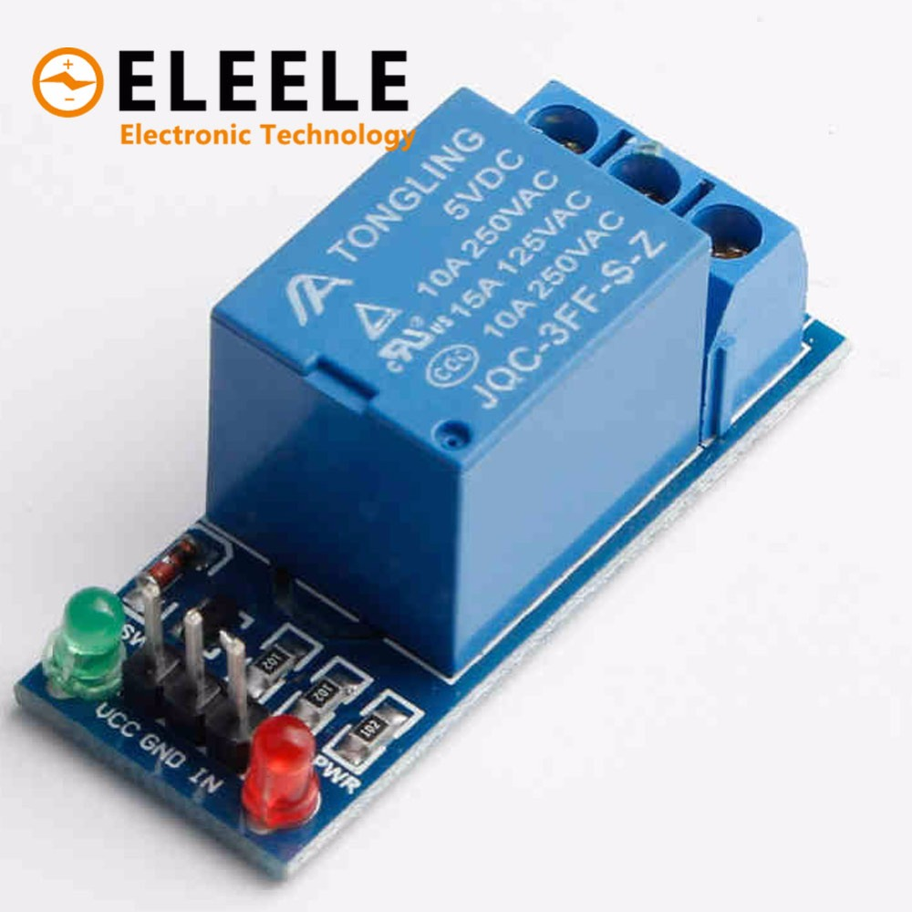 1 Channel Relay Module Interface Board Shield For 5V Low Level Trigger One PIC AVR DSP ARM MCU DC AC 220V PN35 цена