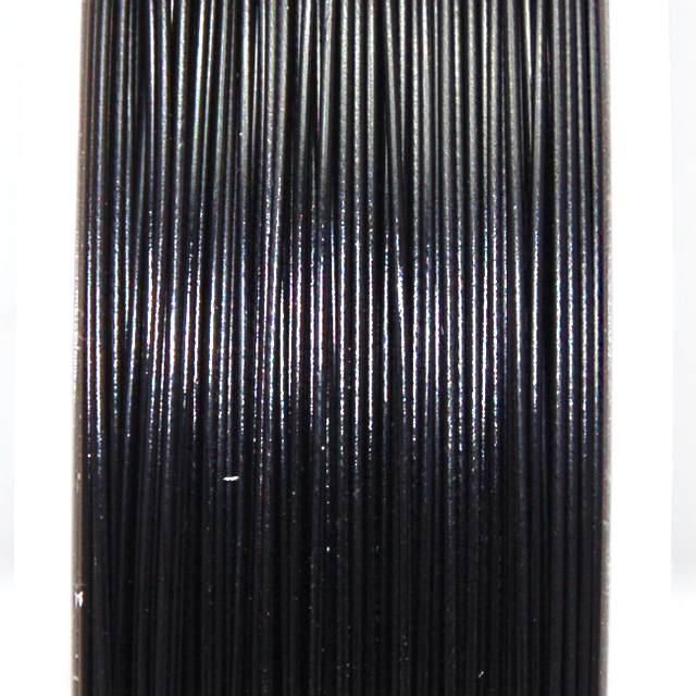 High quality stainless steel wire,0.6mm black tigertail beading wire,thread cord,coated with plastic protective film wire