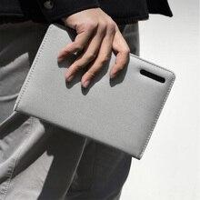 Youpin Kaco Noble zeszyt papierowy PU skórzana kieszeń na karty etui na telefon z klapką z pisak do kaligrafii prezent dla biura podróży spotkanie dziecko