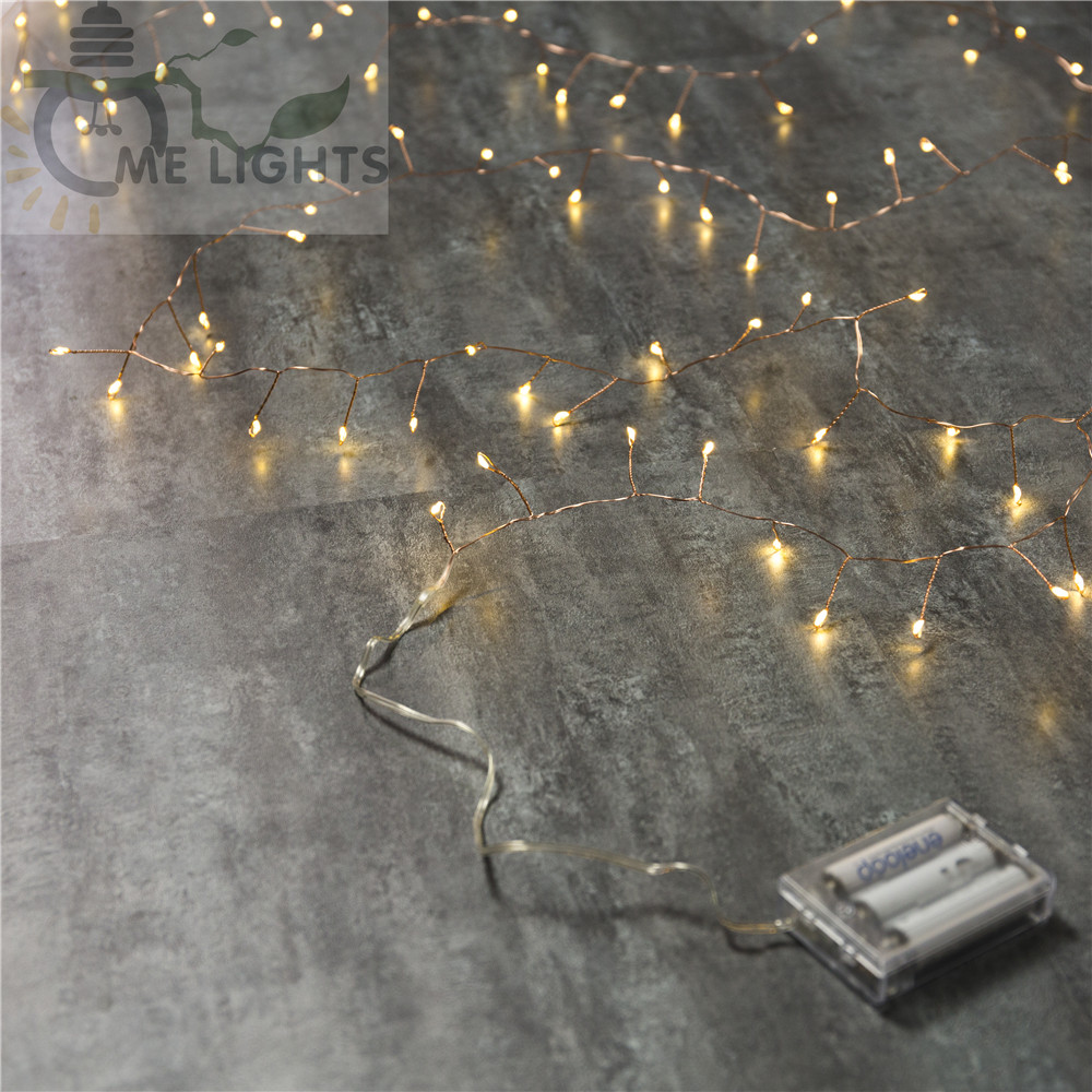 100L Copper Wire LED String lights Waterproof Holiday LED Strip ...