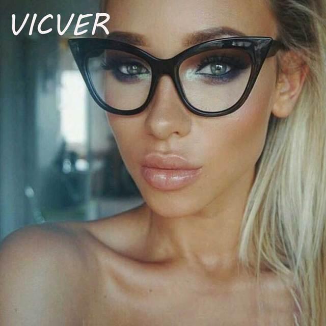 753fab8c4d64 Cateye Солнцезащитные очки женские 2018 брендовые треугольные маленькие оправы  очки сексуальные ретро кошачий глаз солнцезащитные очки