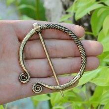 Ancient Silver Bronze Pin Belt Nordic Buckles Enamel Brooch Buckle Cloak cloak button Medi