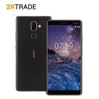 Nokia 7 Plus Snapdragon 660 ROM 64G Mobile Phone 6.0'' FHD 2160*1080 Octa core Cellphone 3800mAh 4G LTE NFC Smartphone