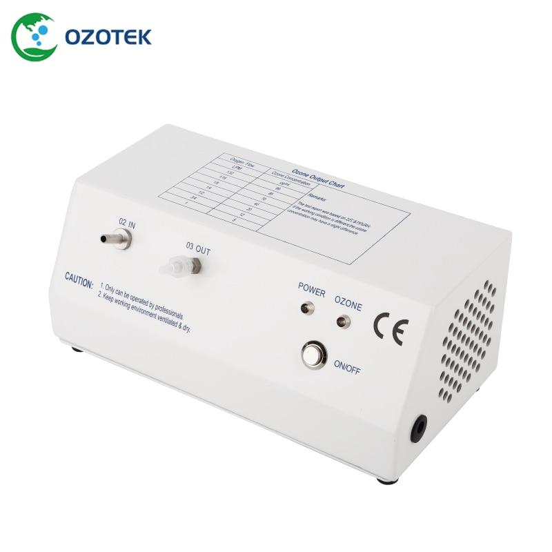 OZOTEK 5-99ug/ml ozone generator for medical MOG003 12V with oxygen regulator FREE SHIPPING oxygen regulator 870 medical oxygen bottle flow regulator