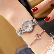 Luxury Ladies Rhinestone Wristwatch Women Watches Diamond Brand Elegant Dress Quartz Relogio Feminino Dropshipping 2019