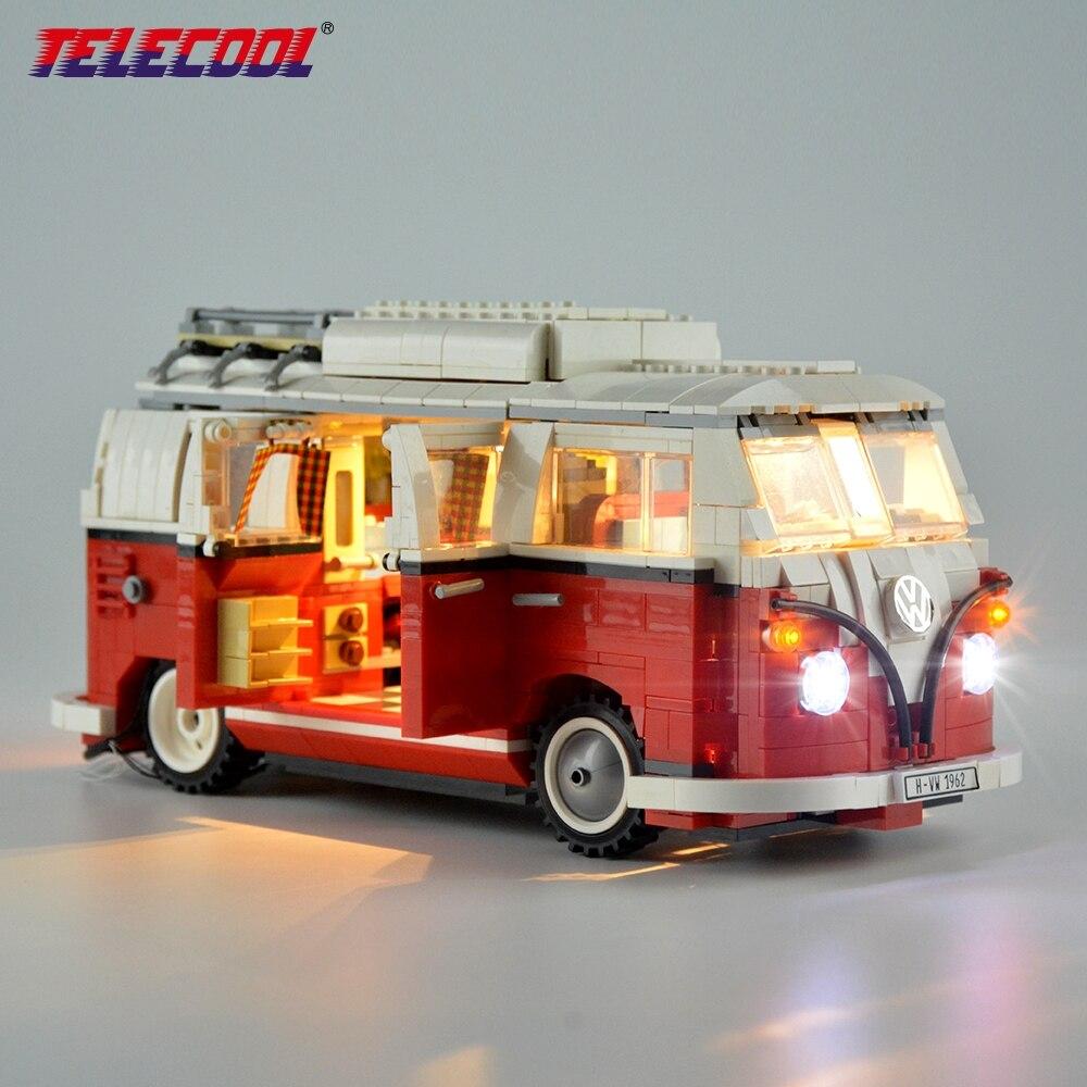 TELECOOL LED Lumière Kit (seulement Lumière Ensemble) pour Créateur Série La T1 Camping-Car 10220 Et 21001 Avec Manuel D'instruction