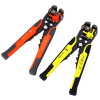 Wire Stripper Cable Cutter Crimper Wire Pliers JX1301 Automatic Multifunctional TAB Terminal Crimping Stripping Pliers Tools
