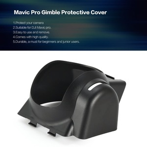Image 1 - Camera Lens Shield Protector Gimble Protective Cover Sunshade Hood Cap Case for RC dji Mavic Pro Drone Accessories Spare Parts