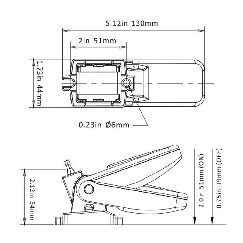 para bombas de bilge interruptor eletrico automatico 05