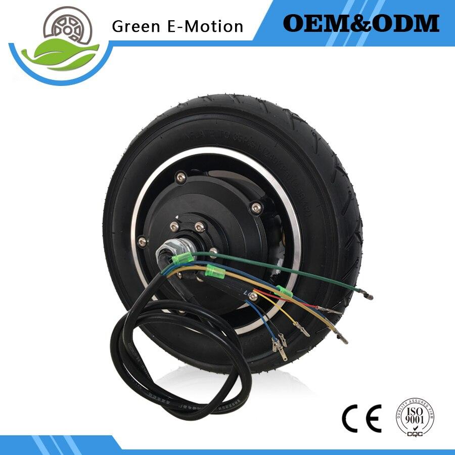 Powerful Electric Brushless Gear Hub Motor 10 39 39 36v 48v