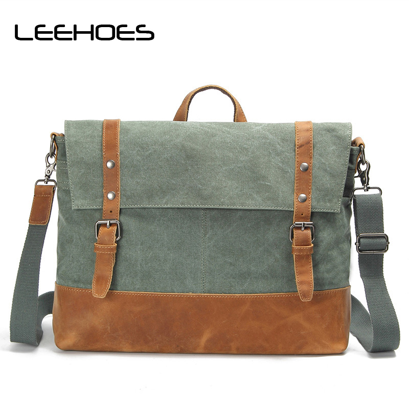 High Quality Men Shoulder Bags Fashion Canvas Bag Student Retro Leisure Messenger Bag Large Travel Bags Tote Bolsa Masculina high quality anime bungou stray dogs men travel bags canvas fashion women shoulder messenger sling bags bolsa feminina