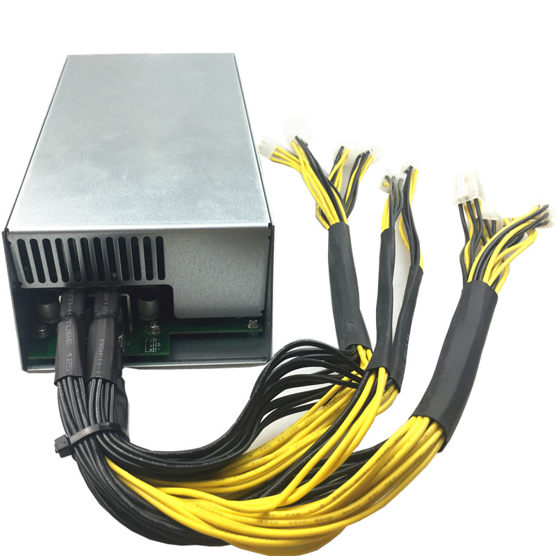 PSU Supply For BTC Miner RIG Mining Machine S9 S7 HOT! 1800W Mining Power APW3+