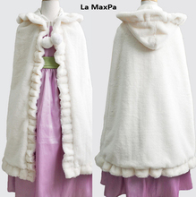 vestido girls fur cape waistcoat infant girls formal princess cape baby plush cloak kids grils cloak