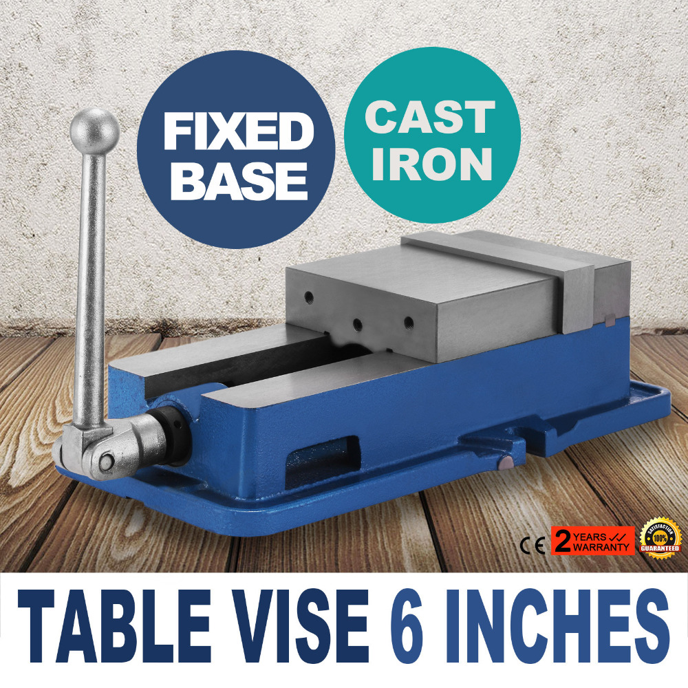 """6/"""" Accu Lock Vise Precision Milling Drilling Machine Bench Clamp Clamping Vice"""