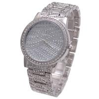 2017 Fashion Luxury G D Women Watches Silver Women S Quartz Wristwatch Stainless Steel Relojes Mujer