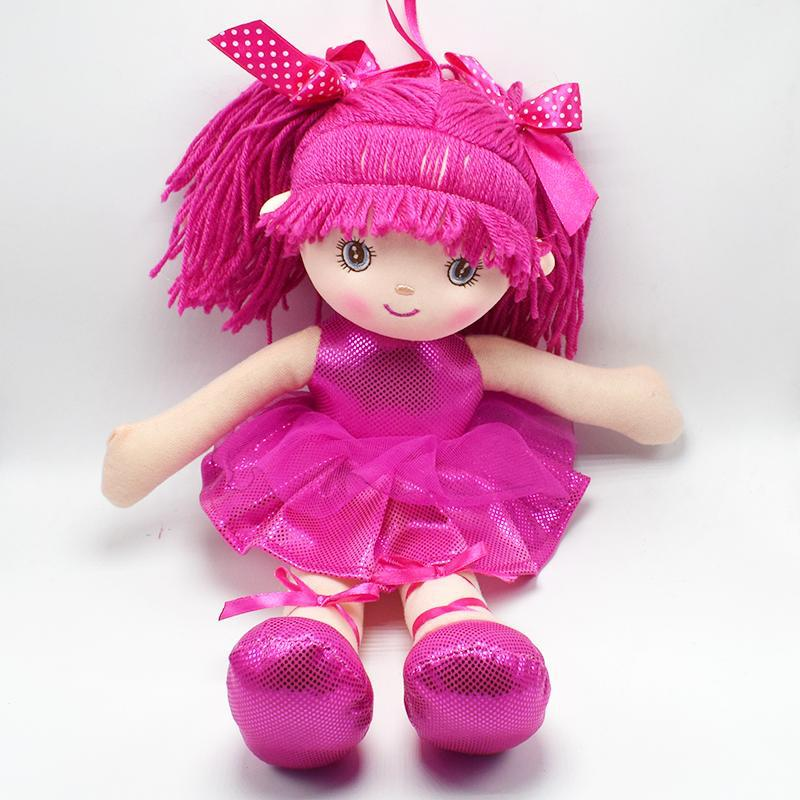 Toys For Girls Birthday : Princess baby girl s doll toy cm red pink purple kids