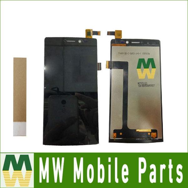 1 pc/lot 5.0 Pour Archos 50 Diamant LCD Display + Écran Tactile Digitizer Assemblée Noir Couleur