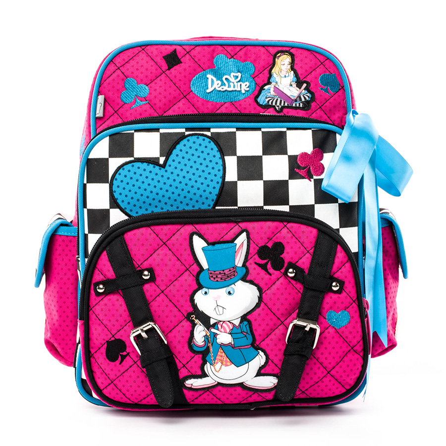 Delune Brand Children School Bags for Girls 3D Cartoon Orthopedic School Backpack 5 9 Year Kids