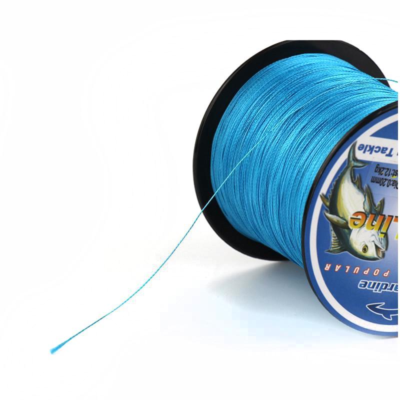 BlueSardine Mavi Balıqçılıq Xətti 300M Multifilament PE - Balıqçılıq - Fotoqrafiya 6