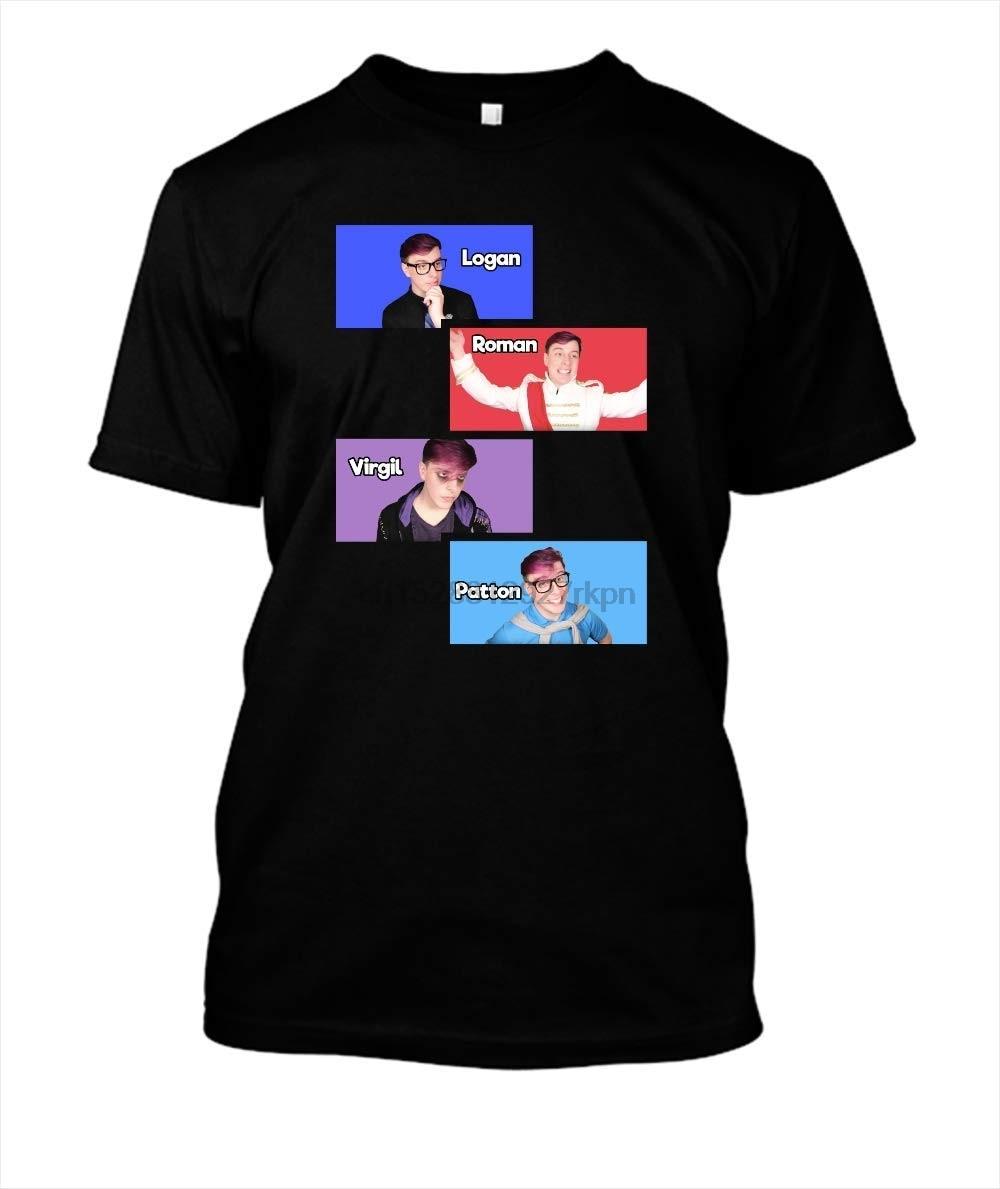 Sanders-Sides-Slides-Logan-Roman-Virgil-Patton T-Shirt