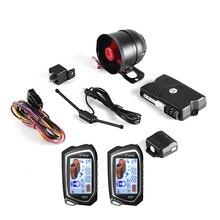 BANVIE SPY Two 2 Way LCD Car Alarm Security