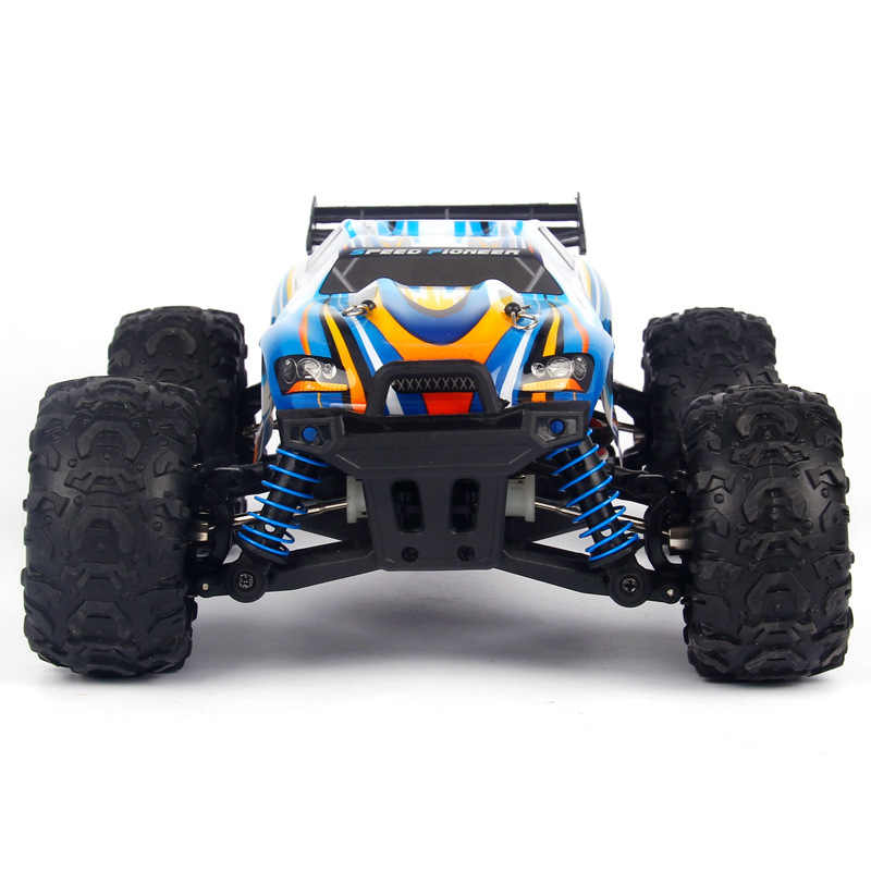 8814E 1/18 2.4G 4WD wodoodporna wysokiej prędkości zdalnie sterowany samochód wyścigowy prędkości Off-Road pojazdu Monster Truck RTR zabawki dla dzieci zabawki