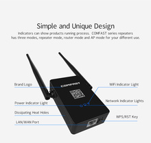 WI-FI Маршрутизатор Английский прошивки 2.4 + 5 Ггц 750Mbs 11AC Dual Band Беспроводной Маршрутизатор Ретранслятор Wifi Extender антенной 10dbi WI FI Roteador