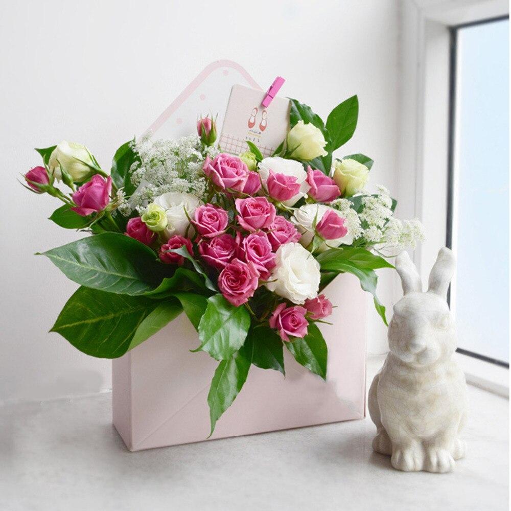 5 x Living Vase Bouquet Flower Box Florist Aqua Box Sweet Boxes