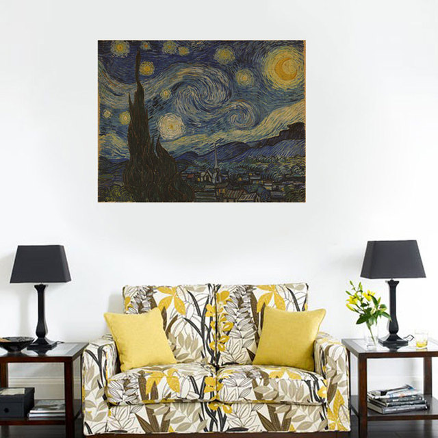 Creative Home Decor Van Gogh Masterpiece  Part 63