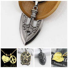 2019 Necklace Anime JOJOS BIZARRE ADVENTURE Necklaces KILLER QUEEN Higashikata Josuke Jewelry Ketting Pendant For Fans