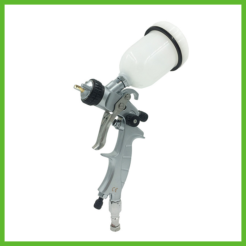 цена на SAT1216M professional high quality mini airbrush spray guns nozzle 1.0 for car painting pneumatic machine