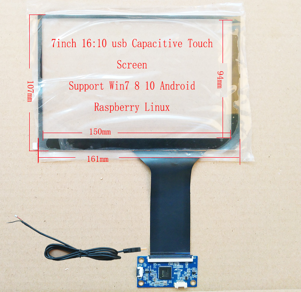 7.1inch 161*107 USB Touch Screen For N070ICG-LD1/LD4 TM070JDHG30 Dedicated Touch Screen