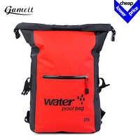 Large 25L Swimming Bag Waterproof Dry Bag Rafting Backpack Storage Bags Sport Bags Kayaking Canoeing Swimming PackageTravel Kit