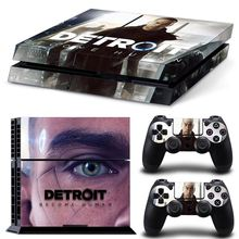 Detroit Become Human PS4 Skin Sticker