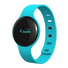 Smart Wristband Bracelet Bluetooth round band 4.0 Waterproof Touch Screen Fitness Tracker Health Sleep Monitor Watch Sports