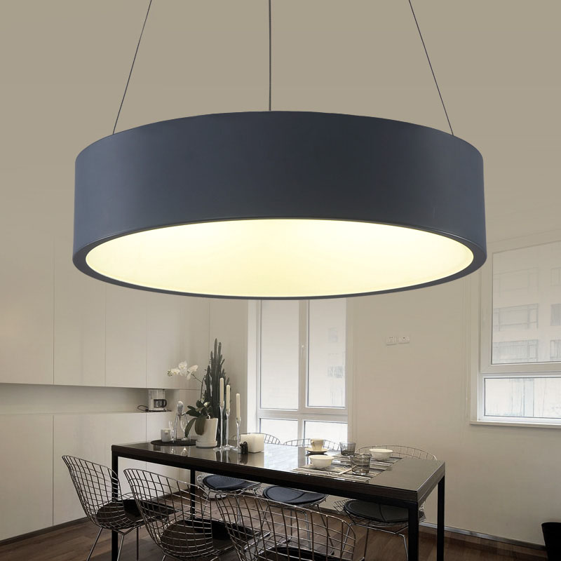 minimalism hanging modern led pendant lights for dining. Black Bedroom Furniture Sets. Home Design Ideas