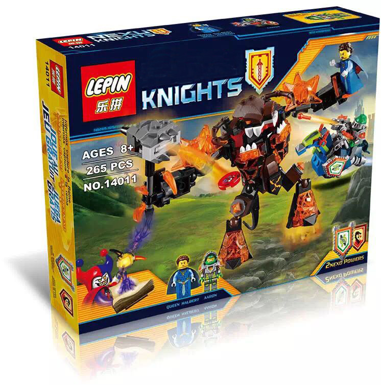 2016 Limited Edition LEPIN Knights Building Blocks Infernox Captures The Queen Buildable Figures Compatible Nexus lepin