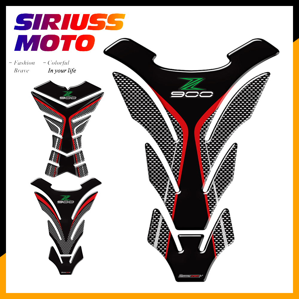 3d Motorcycle Tank Pad Protector Decal Stickers Case For Kawasaki Z900 Z900rs Tank
