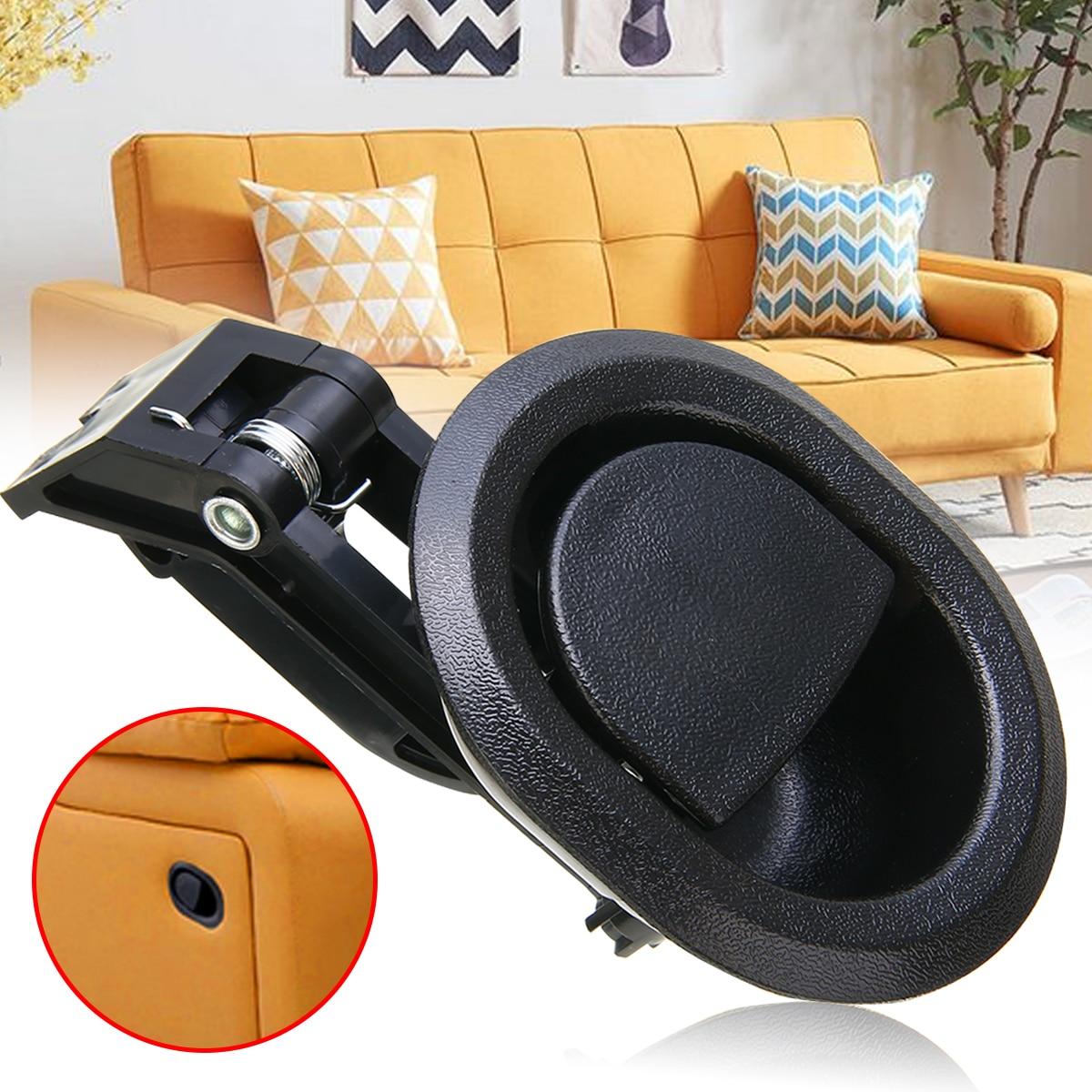 Liberação de sofá de plástico alavanca substituição sofá cadeira reclinável liberação puxar alça parte mais cabo final se encaixa funiture acessório