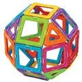 Aocoren Детей Игрушки 56 ШТ. Magformers Кирпичи Образовательные Магнитный Конструктор Игрушки Площадь Треугольника Пятиугольник 3D DIY Строительные Блоки