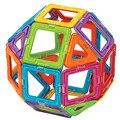 Aocoren niños juguetes 56 unids ladrillos educativos magformers magnéticos juguetes de diseño cuadrado triángulo pentágono 3d diy bloques de construcción
