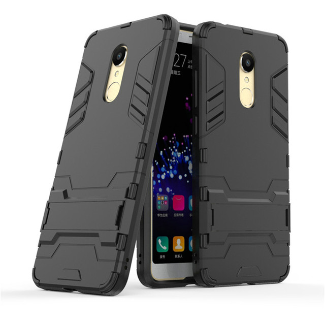 newest 4fedf db096 US $2.95 26% OFF|3D Armor Case for Xiaomi Redmi 5 Plus for Xiaomi Redmi 6  Pro Redmi 6A Xiaomi Mi A2 Lite 16GB 32GB Shockproof Phone cover Case-in ...
