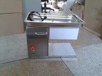 Freies Verschiffen mit 2 klingen QH modell fleisch schneiden maschine fleisch slicer maschine-in Küchenmaschinen aus Haushaltsgeräte bei