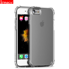 for iPhone 6 6s Plus Case Original IPAKY Silicone Carbon Fiber Hybrid Protective Cover for Apple iPhone 6 6s case стоимость