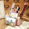 2017 New Style Transparent Office Pen Container Fashion Storage Box Stationery Office Organizer School Supplies Escritorio