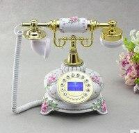 Нечетный дом стерео резной античный телефон АНТИЧНОСТЬ домашнее животное античный дом фиксированный старомодный телефон винтажный беспро